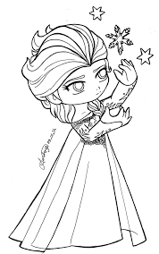 Chibi Queen Elsa