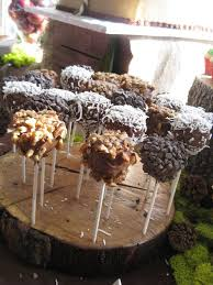 Cake Pop Stand Oak Tree Rustic Charm OOAK By TheGypsybird 2899