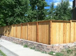 Decorative Garden Fence Panels by Wood Privacy Fences Harrison Fence