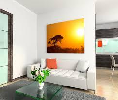 120x80cm wandbild afrika landschaft sonnenaufgang