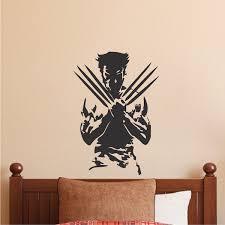 x men wall decal x men bedroom decor superheroes boys room
