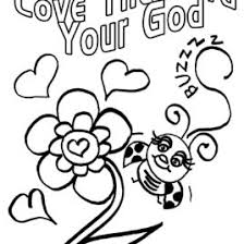 Coloring Pages God Love