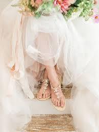 Rose Gold Wedding Sandals
