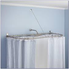 Kohls Tension Curtain Rods by Curtains Beautiful Hookless Shower Curtains Split Shower Curtain