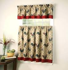 Amazon Red Kitchen Curtains by Curtains Amazon Roosters Splendid Country Red Kitchen New Ideas