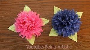 0414 How To Make Tissue Paper Flower