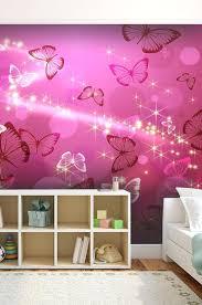 tapisserie chambre fille tapisserie chambre fille ado papier peint papillons idee de