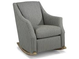 Flexsteel Plymouth Transitional Rocker Chair With Plush Reversible ...