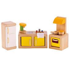 hape puppenhausmöbel küche e3453 aus holz