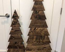 LARGE Wooden Tree Rustic Christmas Decor Primitive