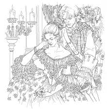 The Official Outlander Coloring Book Perfect Gift For Fans Of Diana Gabaldons Novels