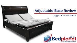 Leggett And Platt Adjustable Bed Headboards by Leggett U0026 Platt Sunrise Adjustable Base Bed Review Bedplanet Com