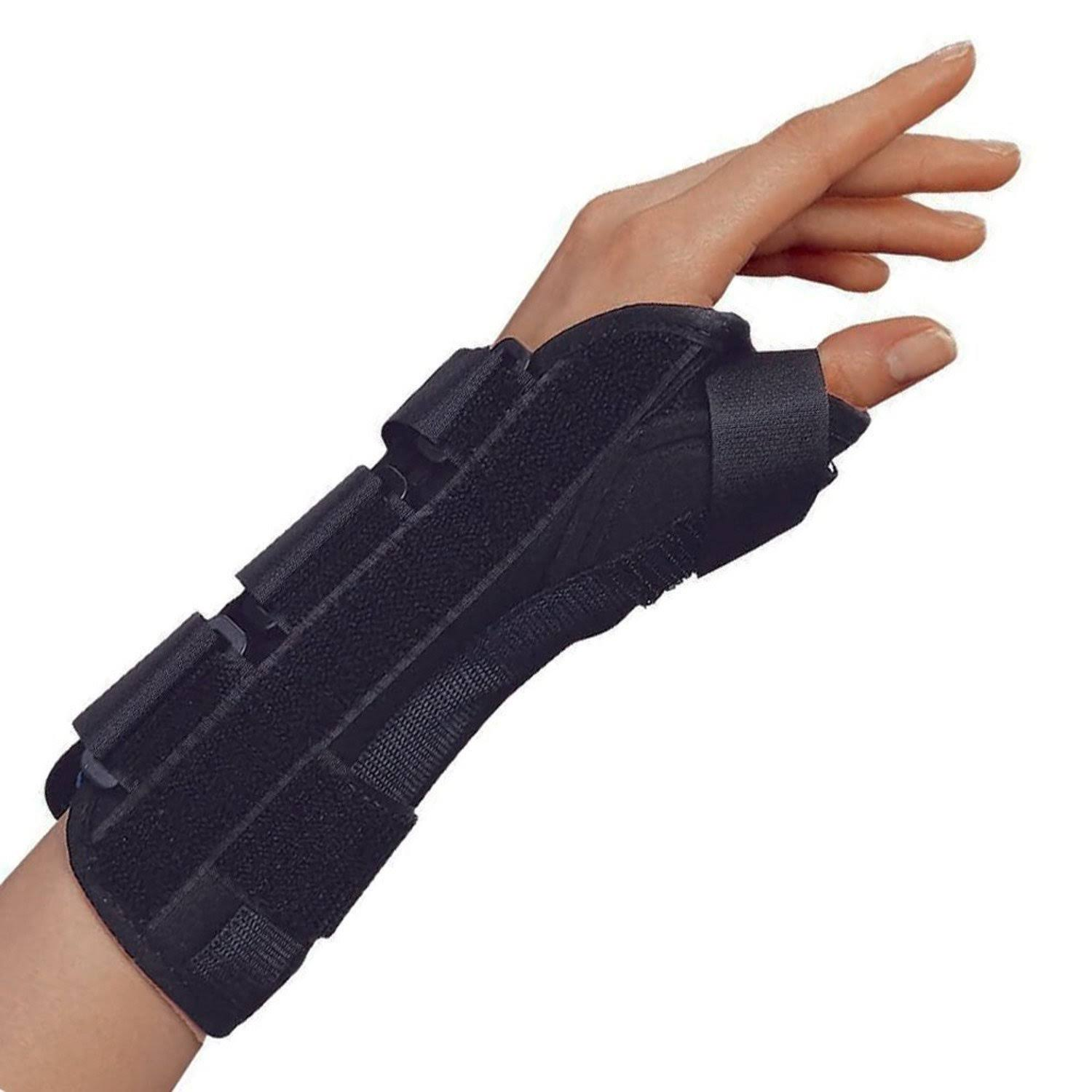 OTC Wrist-Thumb Splint - Black, Large, Left
