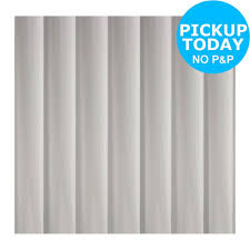 Light Grey Curtains Argos by Simple Value Shower Curtain White From The Official Argos Shop