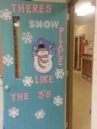 3 Yr Old Preschool Winter Door