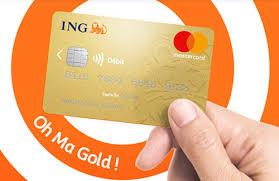 les arguments en or de la gold mastercard ing direct et les moins