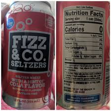 ProductKroger Has These New Seltzer Waters With Soda Flavors Come In Dr Root Beer And Cola Just Enough Flavor To Satisfy That Craving