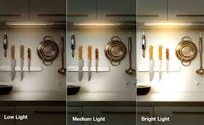 led concepts cabinet light bar 3 dimming levels