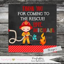 Firetruck Favor Tag, Sticker, Thank You Tag, Gift Tag, Baby Shower ... Fire Truck Baby Shower The Queen Of Showers Custom Cakes By Julie Cake Decorations Plmeaproclub Party Favors Cheap Twittervenezuelaco Firetruck Invitation For A Boy Red Black Invitations Red And Gray Create Bake Love 54 Best Fighter Baby Stuff Images On Pinterest Polka Dot Bunting Card Cute Fire Truck Tonka Toy Halloween Basket Bucket Plush Themed Birthday Project Nursery