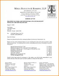 Debt Collection Demand Letter Template Best Payment Covering