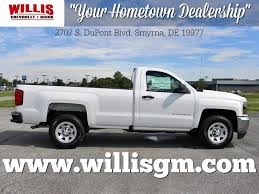 Smyrna Delaware New Chevrolet Silverado 1500 Cars For Sale At Willis ... New Chevrolet Silverado Special Editions Quirk In 2016 Saw Commercial Youtube Pickups From Ram Chevy Heat Up Bigtruck Competion 2018 Battle Scars What We Know About 2019 2500hd Work Truck 4wd Double Cab V8 Pulls Its Weight Trailer Video The Used Trucks For Sale Md Criswell 1500 St Louis Leases Dealer Keeping The Classic Pickup Look Alive With This