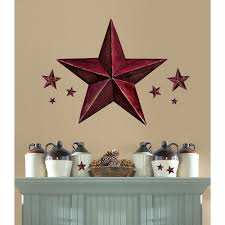 Ebay Wall Decoration Stickers by Country Star Wall Decor Arch Wall Decals Country Kitchen Stars
