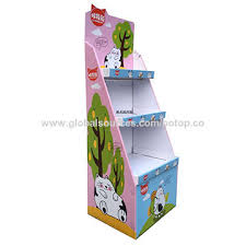 China Pop Display Stands Floor Displays Corrugated Board