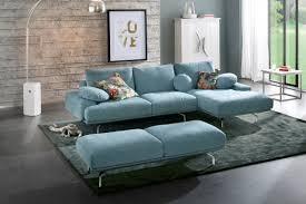 canapé angle tissu canapé d angle tissu bleu design byron autre teinte au choix
