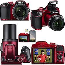 Nikon COOLPIX B500 16 0MP appareil photo numérique Rouge Dernier