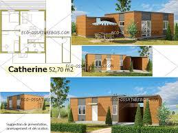 plan maison en bois gratuit nos modeles