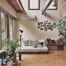 An Earthy Japanese Home Bedroom DecorJapan