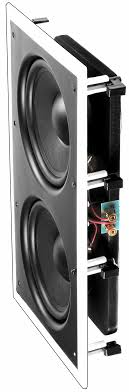 Wall Subwoofer Dual 8