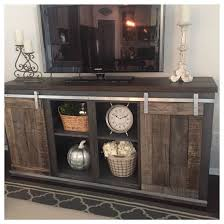 17 DIY Entertainment Center Ideas And Designs For Your New Home Barn Door Tv StandBarn