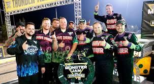 100 Monster Truck World Finals Congratulations Team Grave Digger Jam XVII
