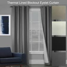 sorrento quality textured blockout eyelet curtains 100 blackout