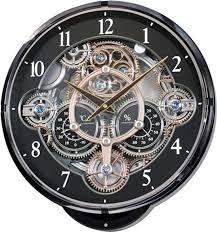 Rhythm 4MH886WD02 Gadget Musical Motion Wall Clock