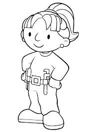 Animated Coloring Pages Bob The Builder Image 0042