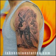 The Meaning Behind Jesus Carrying Cross TattooTattoo Themes Idea