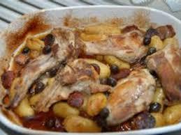 cuisiner un lapin au vin blanc lapin au chorizo recette chorizo poitrine fumée et recettes de