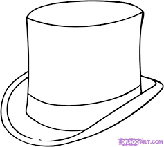 The Gallery For Mad Hatter Hat Coloring Page