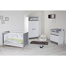 chambre bebe lit et commode chambre bébé complete 3 pieces lit armoire commode a