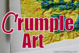 Crumple Art Do You Have Kids