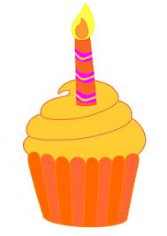 226x320 1st Birthday Cupcake Clipart