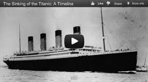 titanic sinking animation 2012 the sinking of the titanic a timeline elearning exles