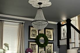 Hanging A Chandelier In The Living Room-A Review | Living Room Update And A New Favorite Shop The Sunny Side Up Blog Behind The Design Maddie Pillows Intriguing Story Pottery Barn Another Daily Inspired Glass Bathroom Canisters Cottage Fix Blog Shower Curtain Kids Storage Bench Everyday Loveliness Nursery Reveal Gray White With Diy Console Table Knock Off East Coast Creative Makeover Takeover Brings New Life To Larkin Street Remodelaholic Update Dome Ceiling Light Faceted Crystals Thanksgiving Dinner By Oslo Vinyl Deluxe Christmas In Family