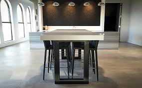 Custom Concrete Kitchen Dining Tables
