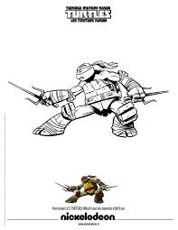 Coloriage Tortue Ninja In Tmnt Coloriages Dindigulz Censontech