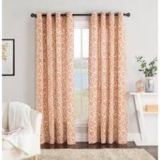 Chevron Print Curtains Walmart by Better Homes And Gardens Damask Curtain Panel Walmart Com