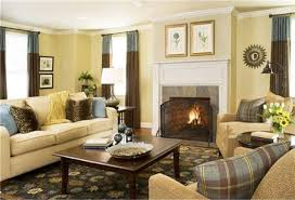 living room yellow walls interior design