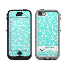 Lifeproof iPhone 5C Nuud Case Skin Refuse to Sink by Brooke